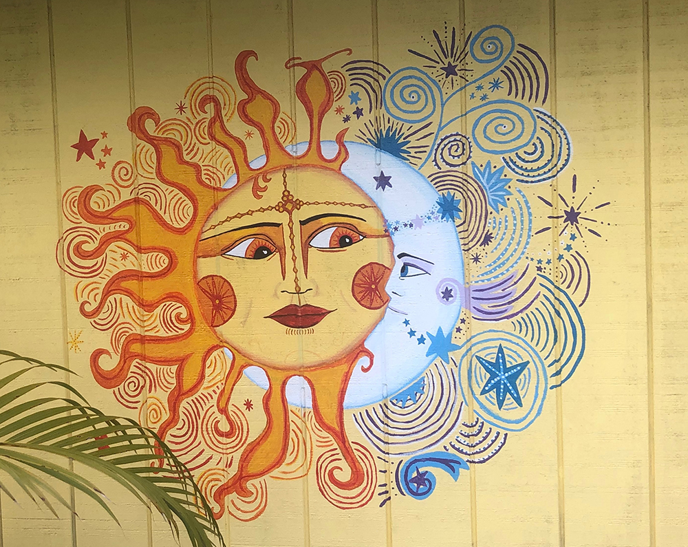 Sun and Moon Mural